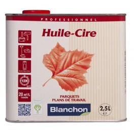 Huile Cire Blanchon pour Parquet  2,5L - Blanc