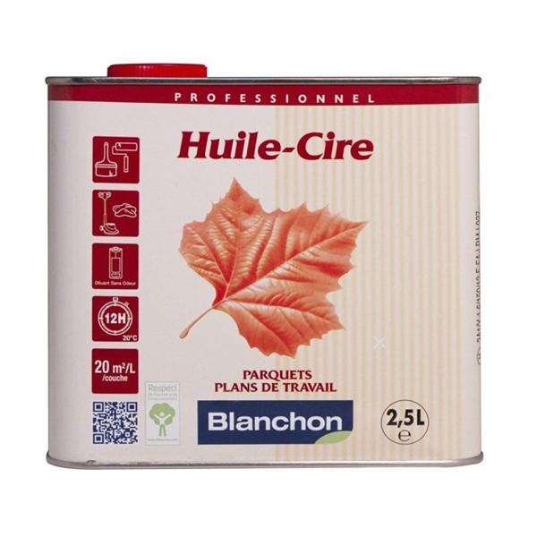Vente en ligne huile cire blanchon pour parquet 2 5l noir for Comment decaper un parquet cire