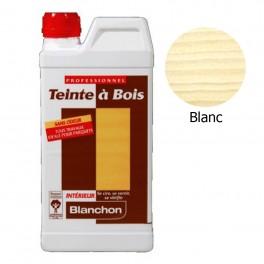 Teinte à Bois Blanchon 1L - Blanc