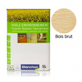 Huile Parquet Environnement Blanchon 5L - Bois Brut