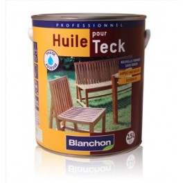 Huile pour Teck Blanchon 2,5L